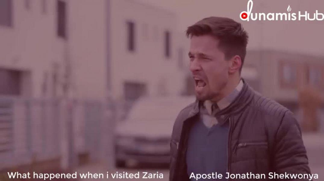 What happned when I visited Zaria for koinonia_ Apostle Jonathan Shekwonya