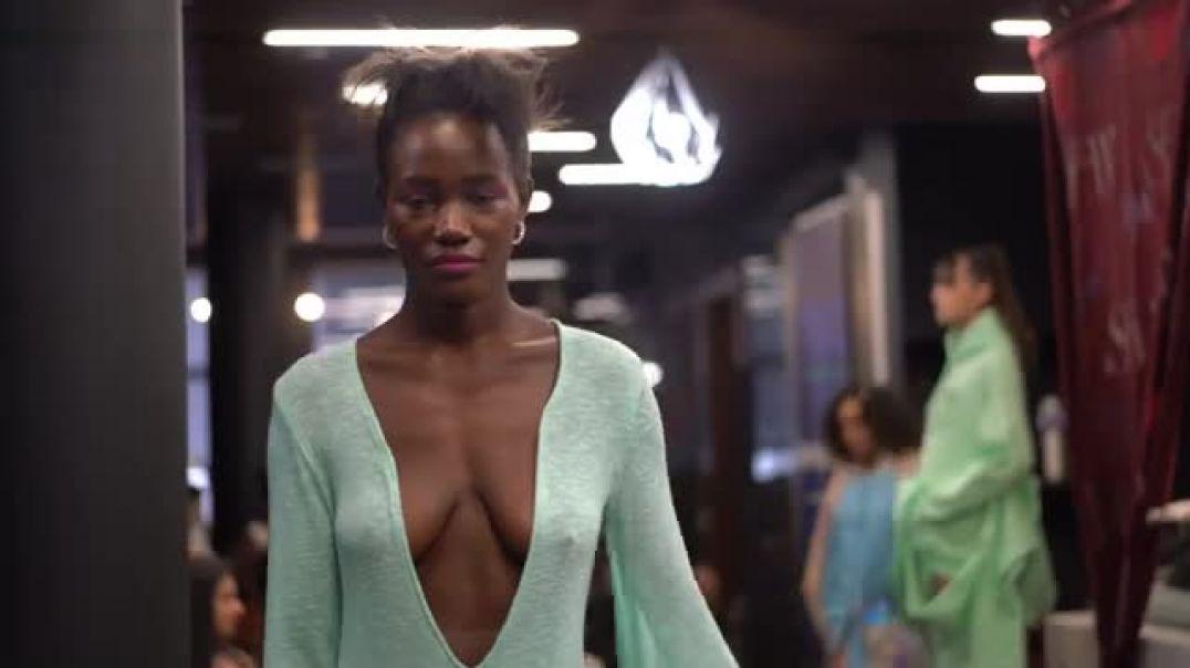 miss world uganda second day of new york fashion week february 2020