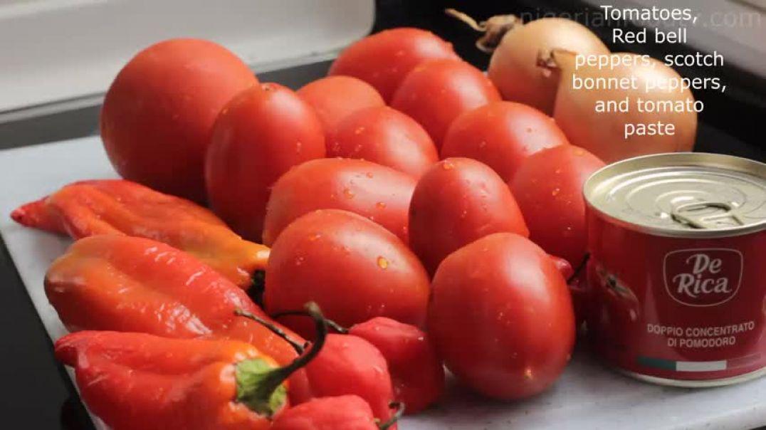 nigerian chicken stew recipe easy tomato stew