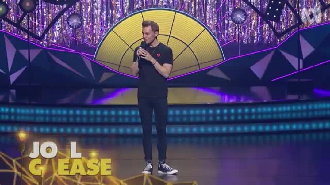 joel creasey describes his role on neighbours melbourne international comedy festival the gala h264
