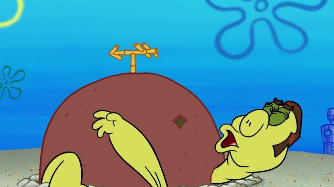 Patricks Rock Is A Turtle  | Scene | SpongeBob #mynick