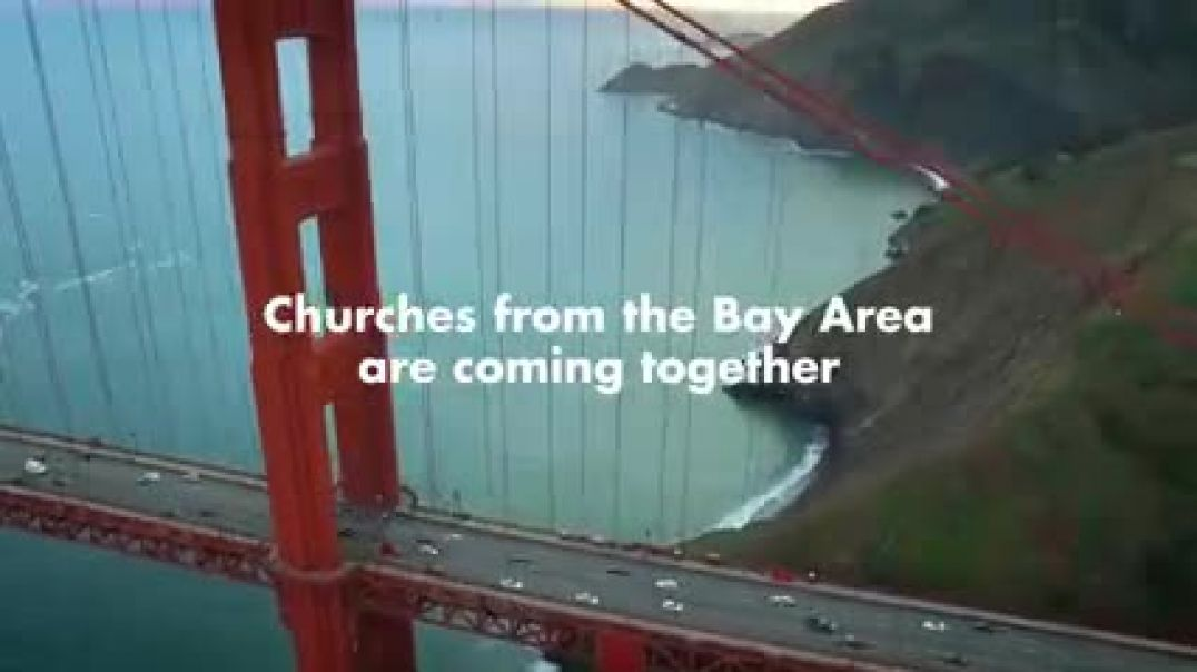 Singing church blessings over sanfrancisco
