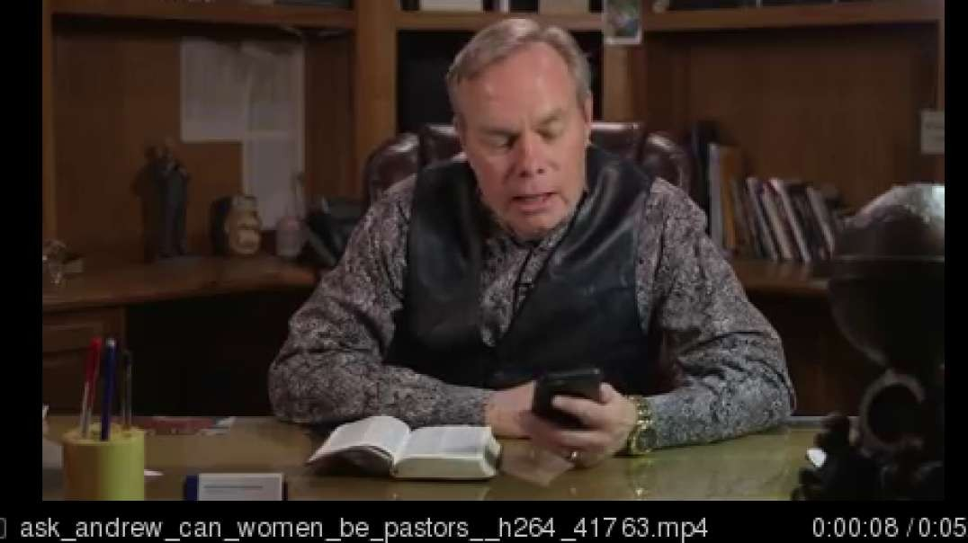 ask andrew can women be pastors