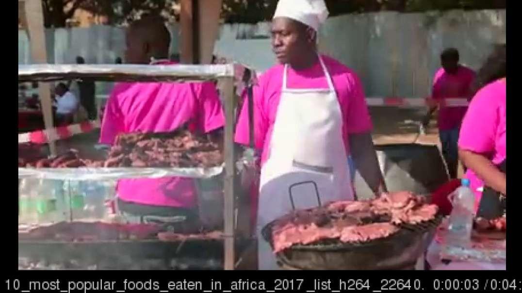 10 most popular foods eaten in africa