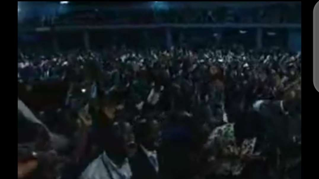 benny hinn glory of god falls on uganda
