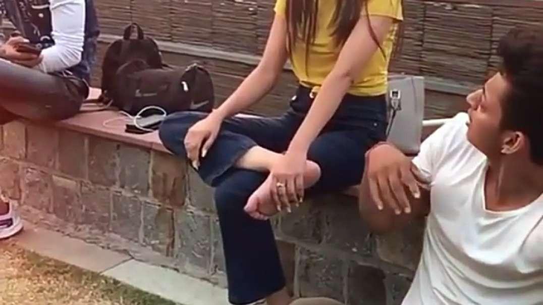 Boyfriend And Girlfriend New Short Funny Video __ Short Video __ Hindi Love Comedy Short Video ( 108