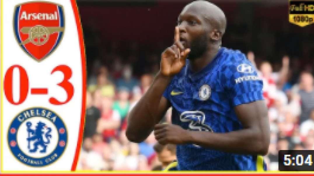Arsenal vs Chelsea 0-2 Extended Highlights & All Goals 2021 ( Lukaku goal )