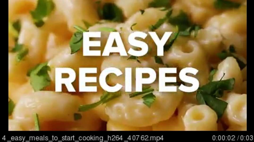 4 easy meals to start cooking