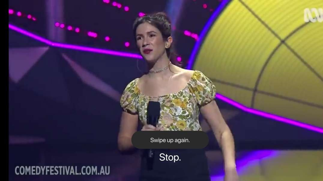 Becky Lucas - 2021 Melbourne International Comedy Festival Gala (part 1)