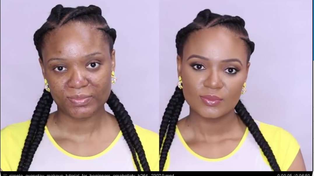 makeup transformation of our uganda beauty ofw diaries charietala