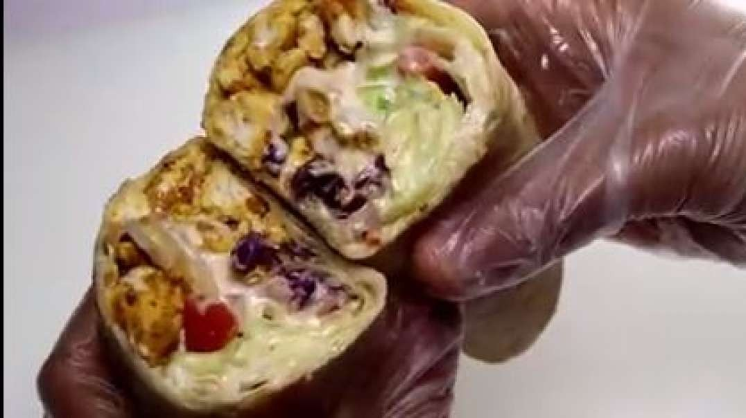 chicken wrap quick and easy recipe by recipes of the world