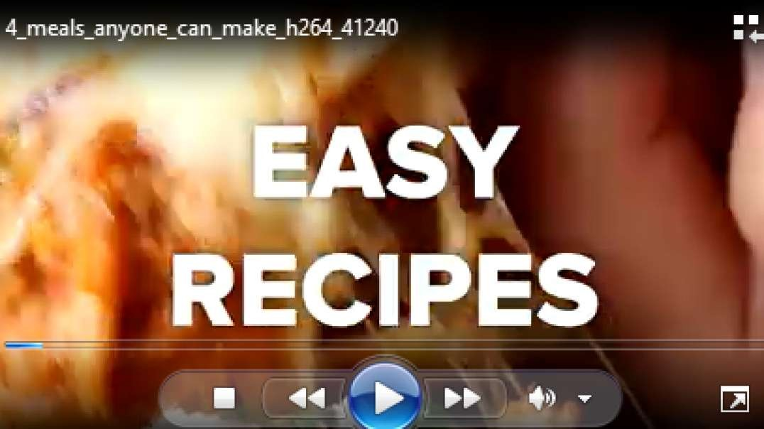 4 meals anyone can make