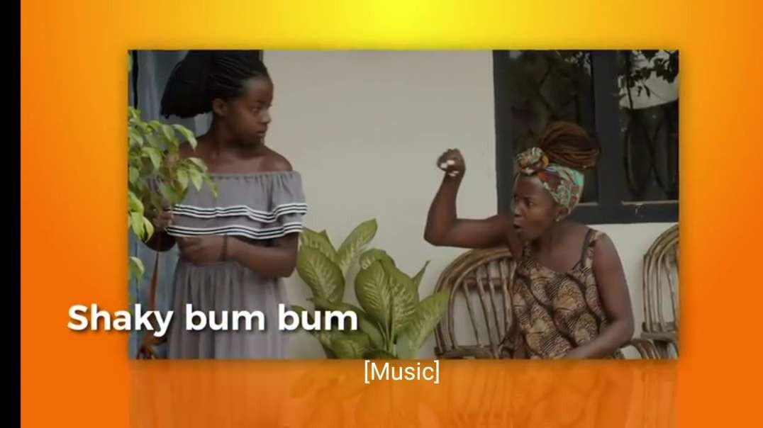 Praise must stay. Kansiime Anne. African comedy