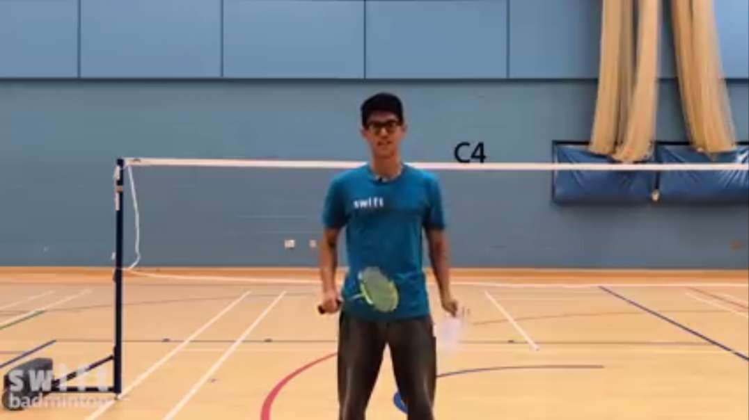 perfect badminton low serve every time best method