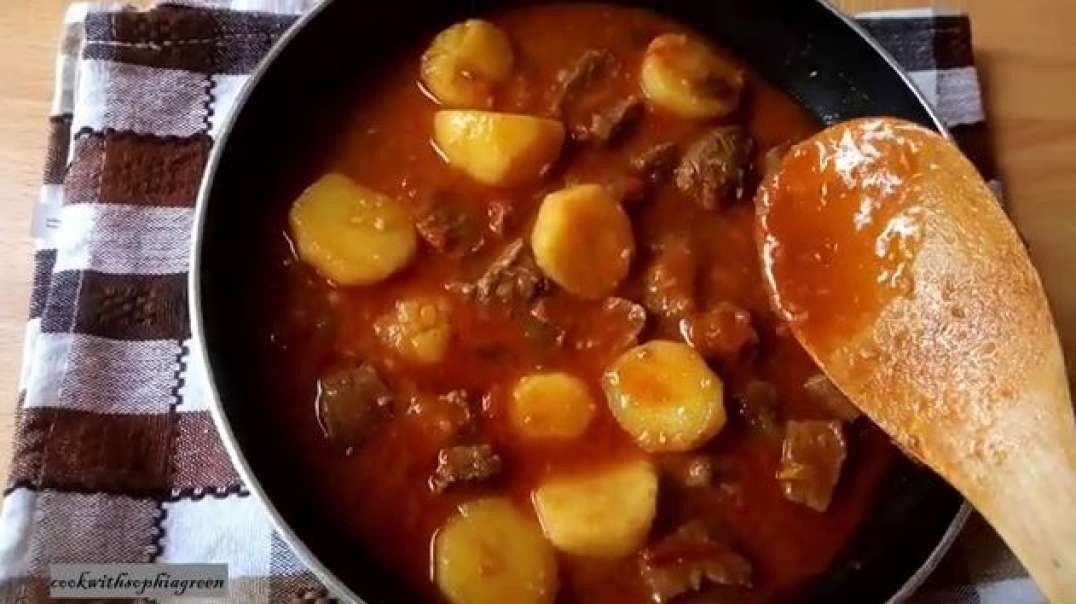 easy beef stew recipe how to cook the perfect ugandan beef stew beef sauce with rice