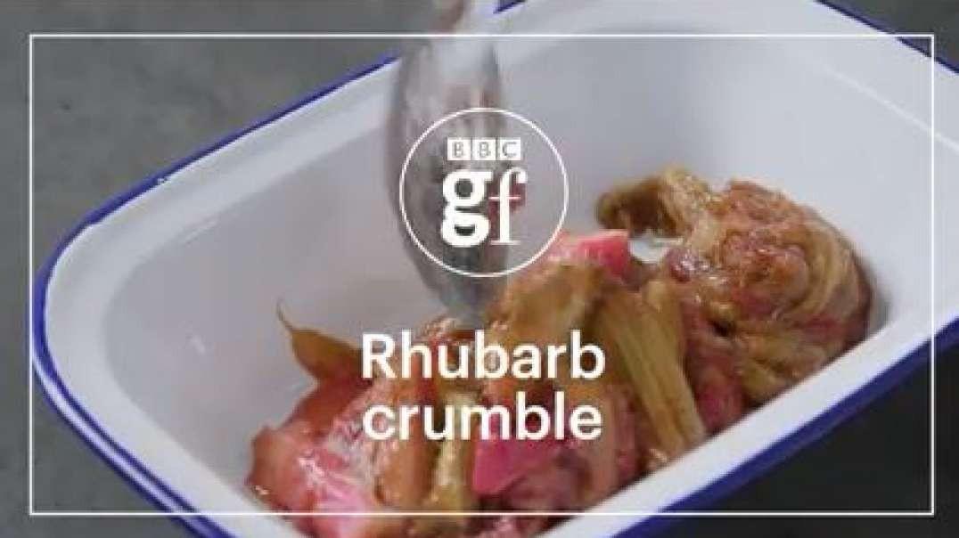 How to make rhubarb crumble_bbc good food