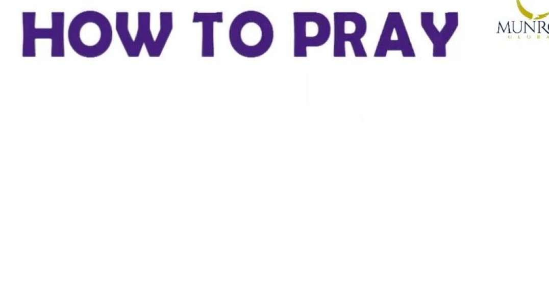 how to pray dr.myles