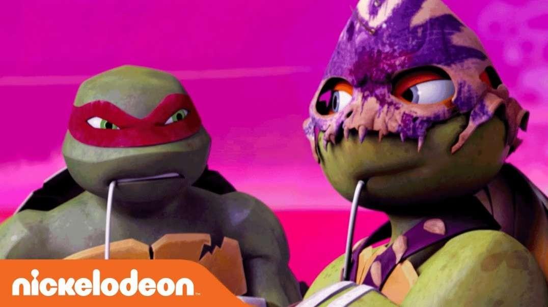 Teenage Mutant Ninja Turtles | into Dimension X!  Help for Leatherhead | Nick