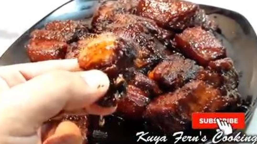 easy pork humba bisaya recipem super soft super yummy