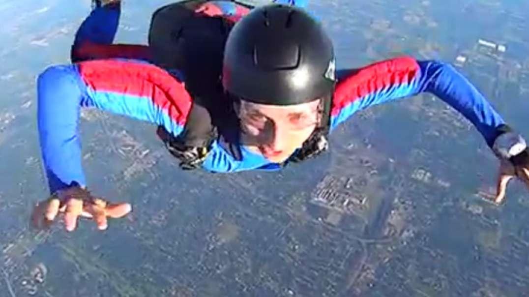 enjoy sky diving