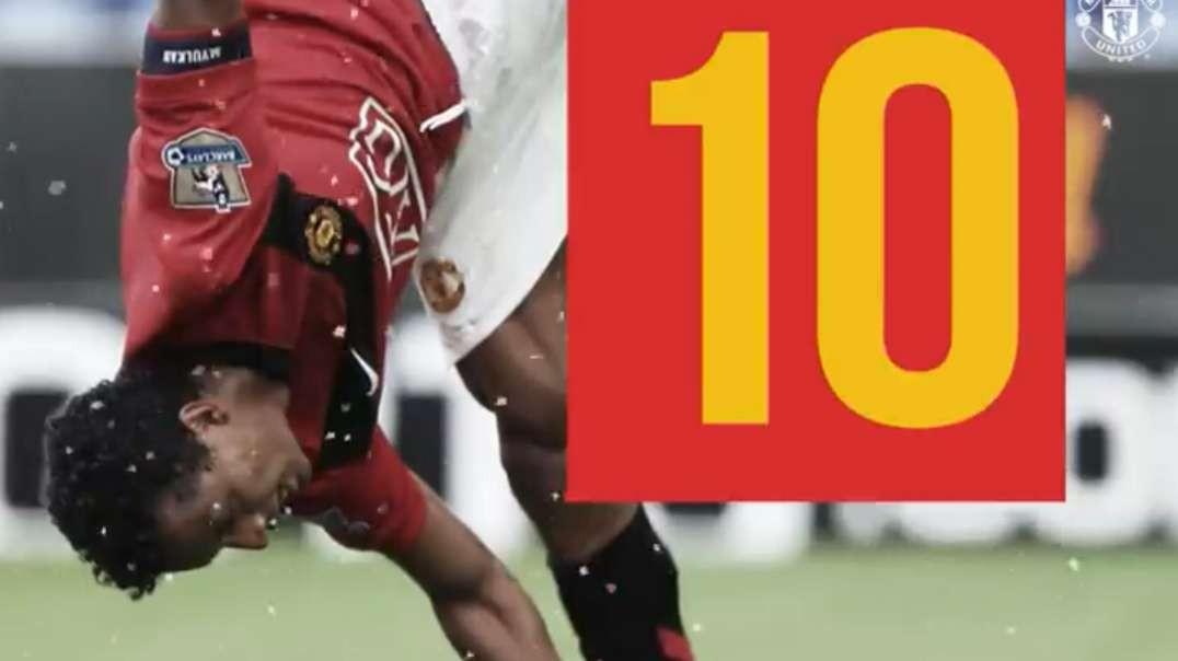 Nani top 10 goals manchester united