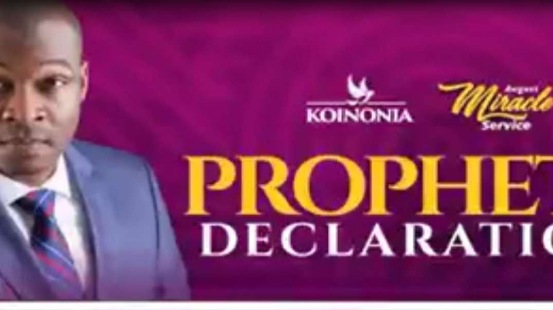 October month,prayers and declarations by Apostle Joshua Selman Nimak