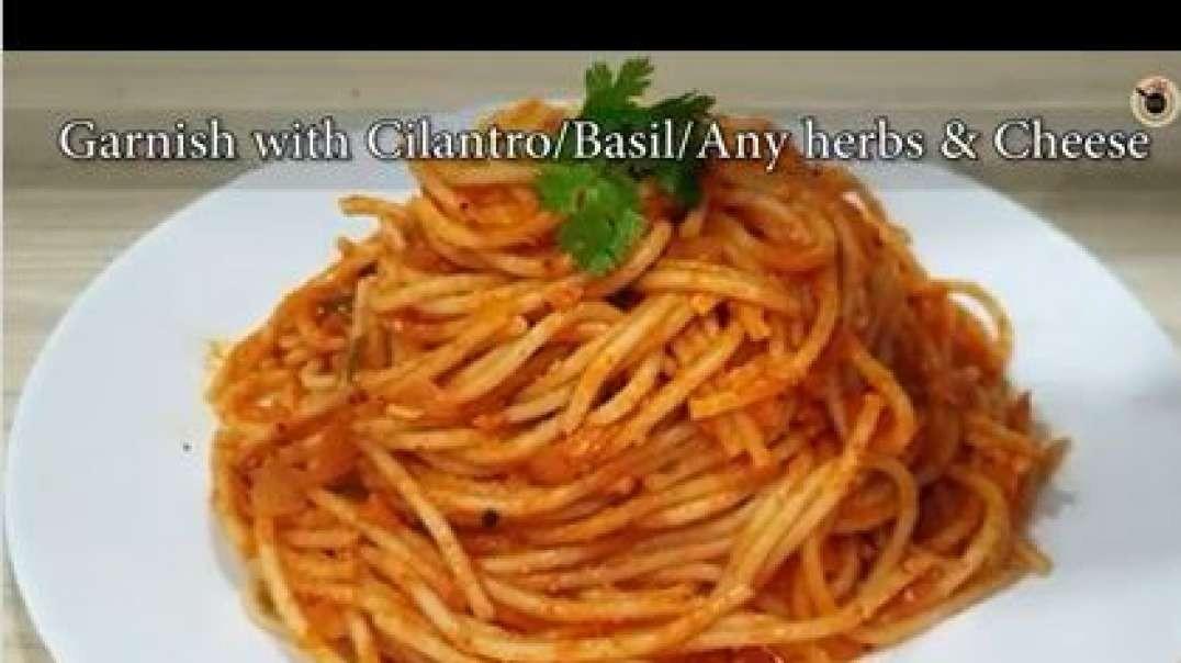spaghetti in tomato sauce basic tomato spaghetti recipe
