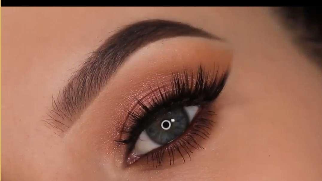 5 minute eye makeup for work school everyday