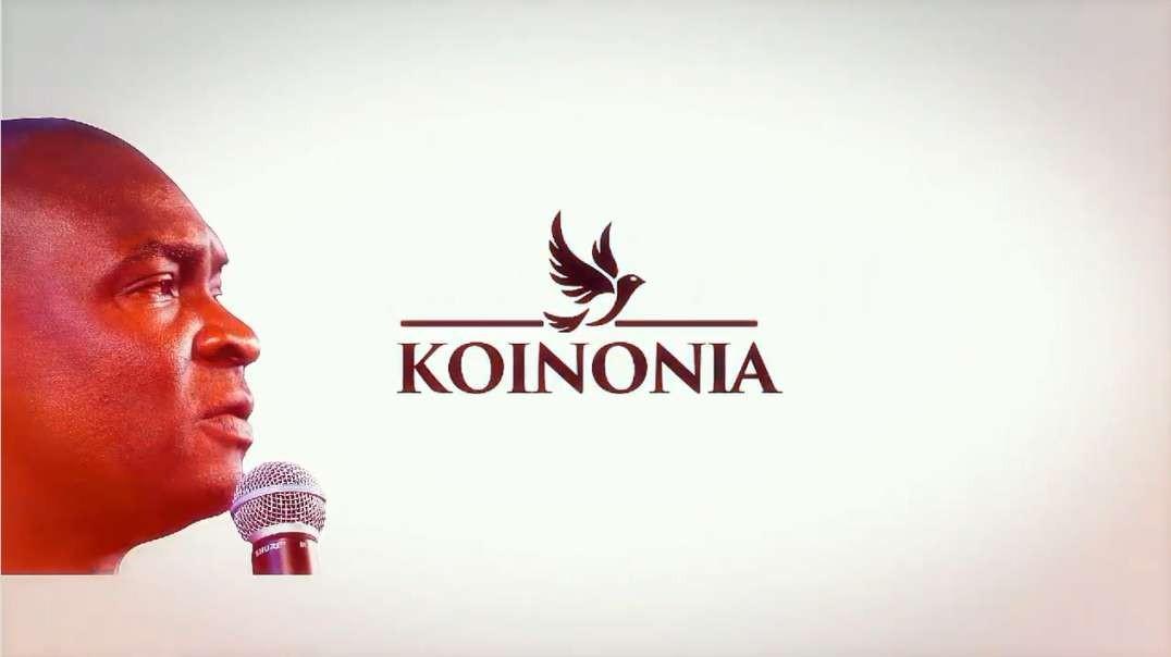 This is Koinonia With Apostle Joshua Selman Nimak