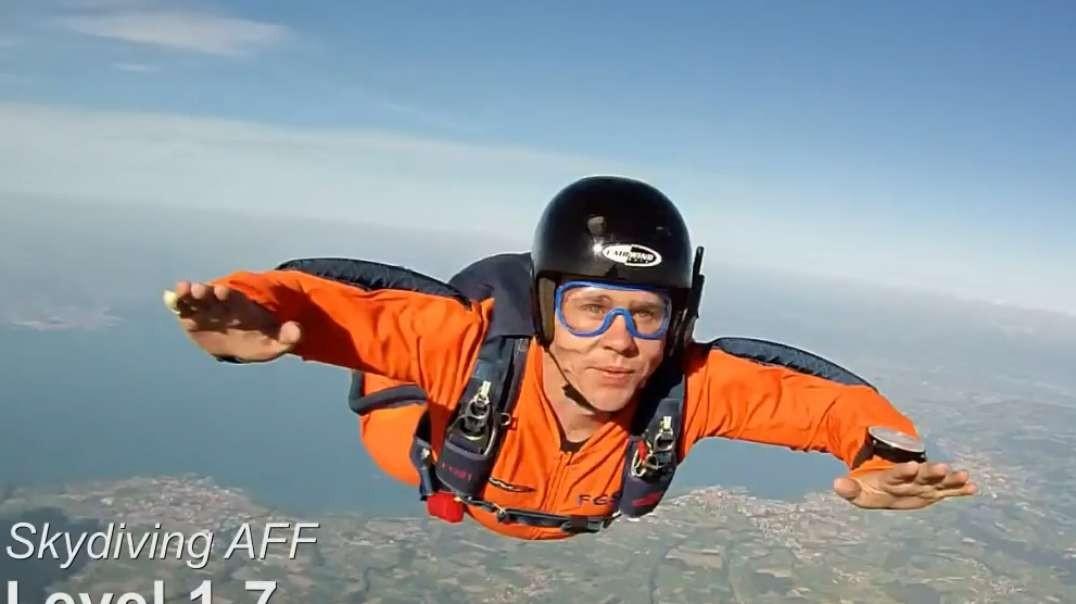 Skydive AFF Level 1-7 (Switzerland)