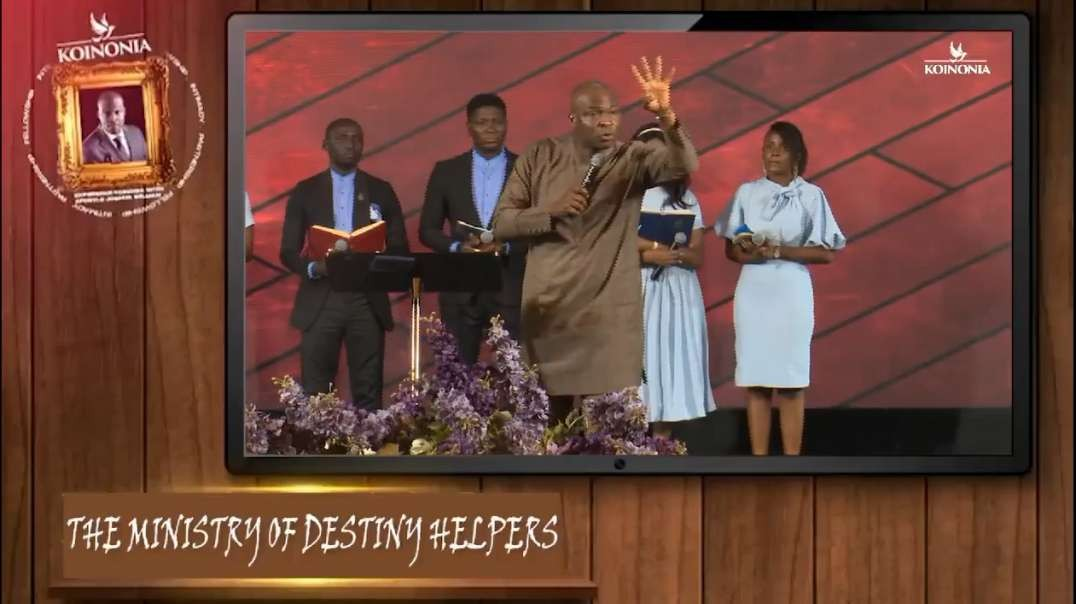 The ministry of Destiny Helpers by Apostle Joshua Selman