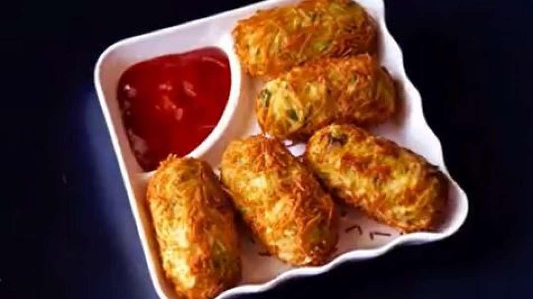 Crispy nashta roll  easy breakfast recipe