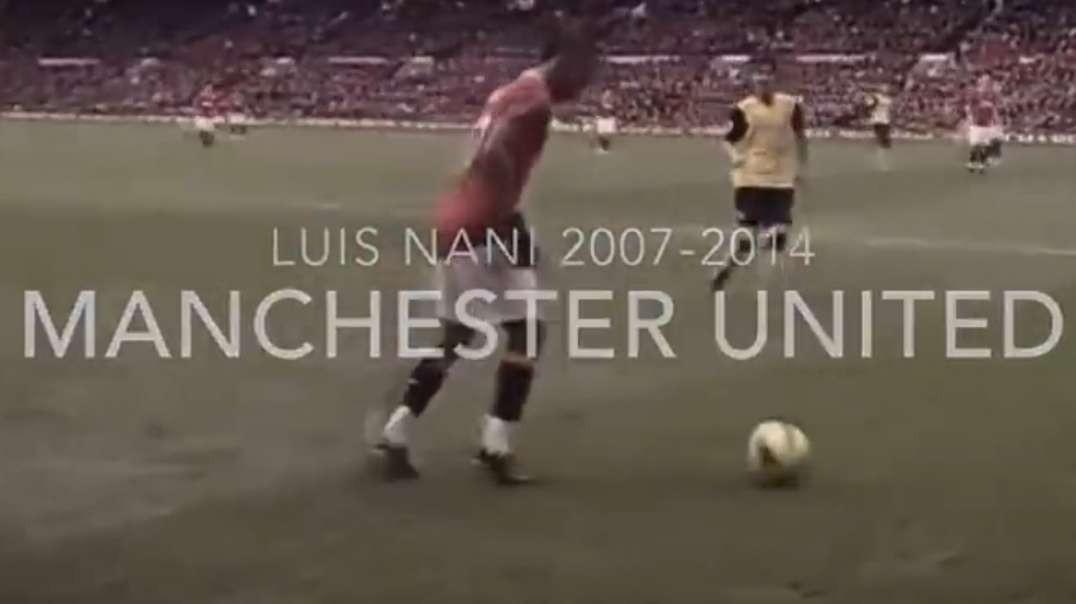 Luis Nani 2007 2014  Manchester United  Skills  Goals